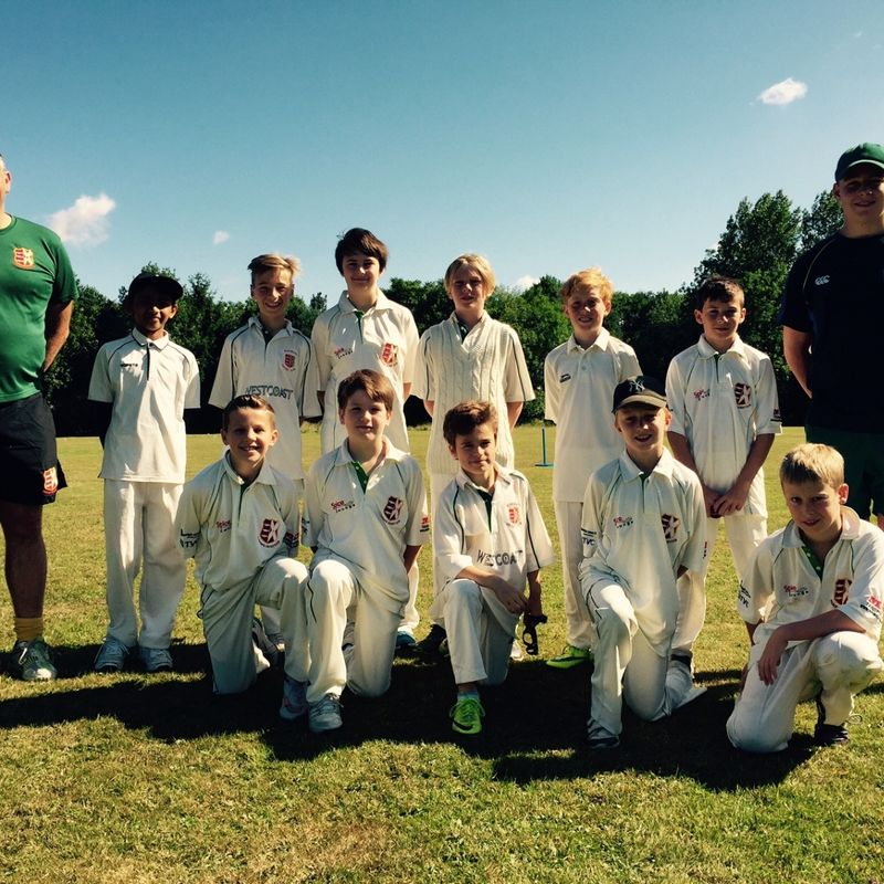 Wargrave CC - Under 13 196/1 - 56 Finchampstead CC - Under 13 Kites