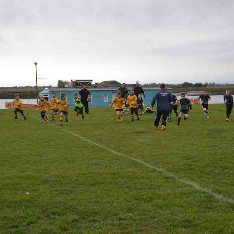 U9s versus Basildon 14th Oct 2018
