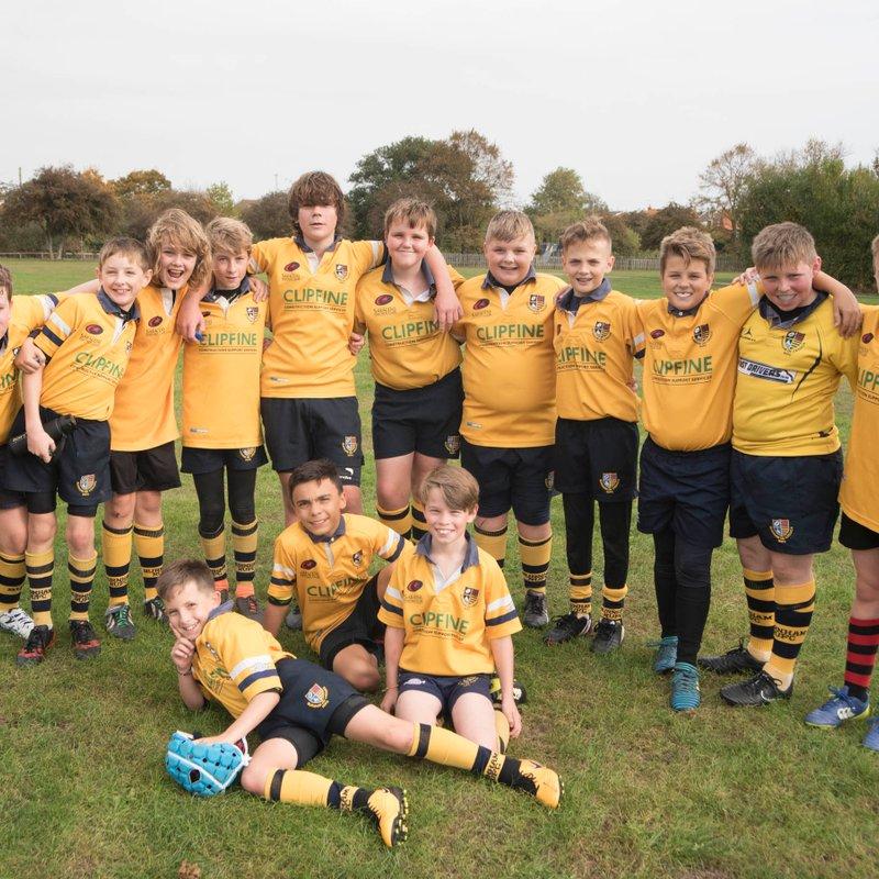 Burnham U12's hard work starting to bear fruit!