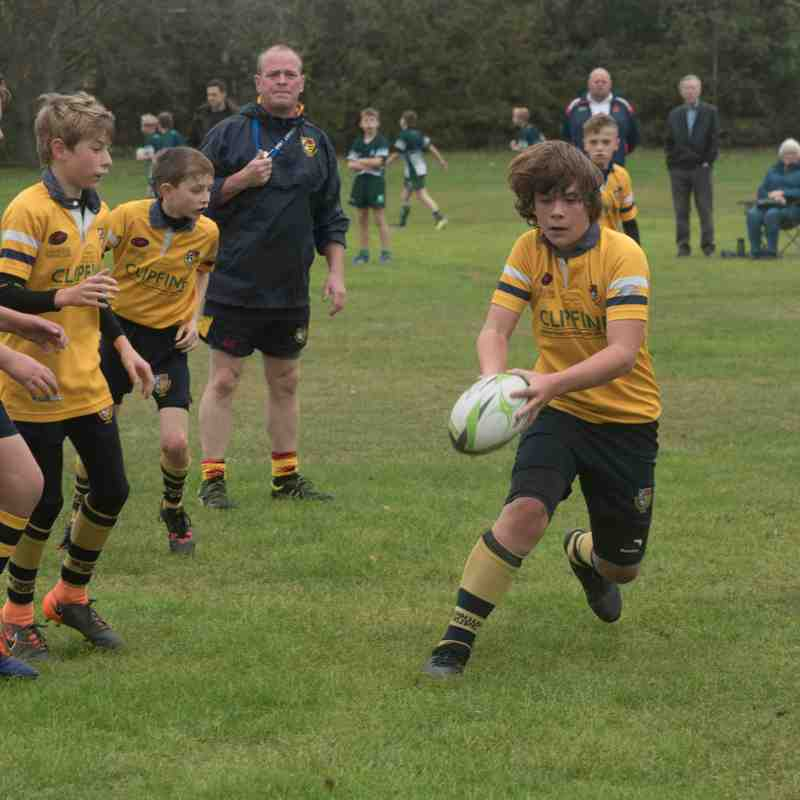 U12s versus Basildon 14th October 2018