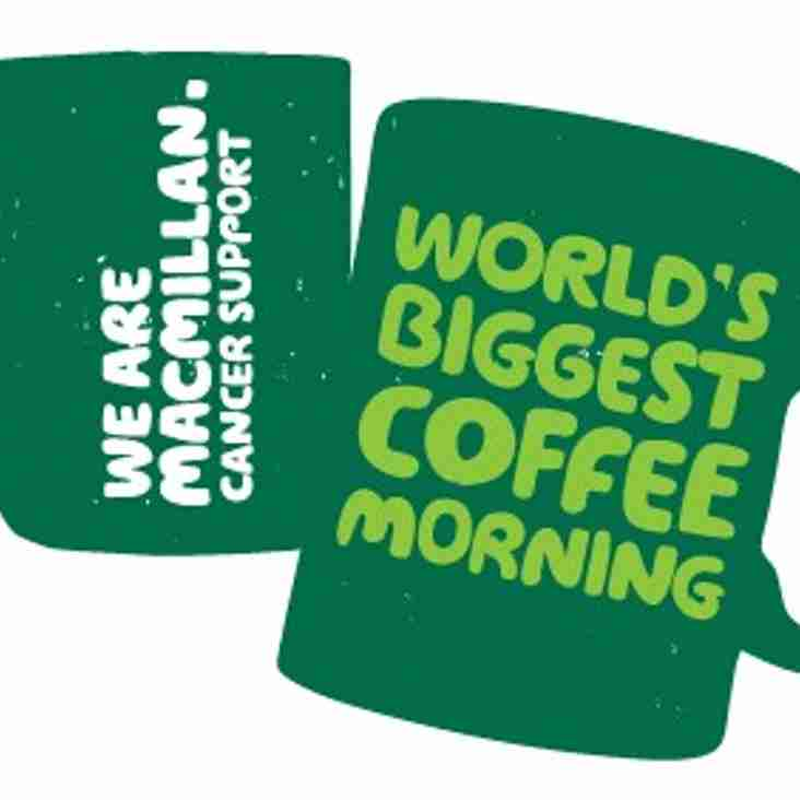 Over £300 raised for Macmillan Cancer Support