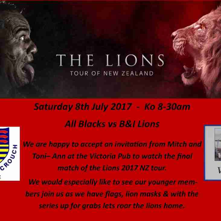 British & Irish Lions Final Match