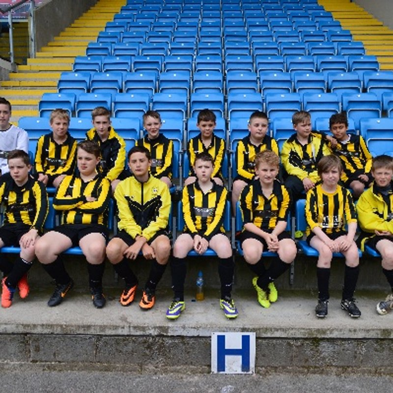 Under 14 beat Blackburn United 0 - 6