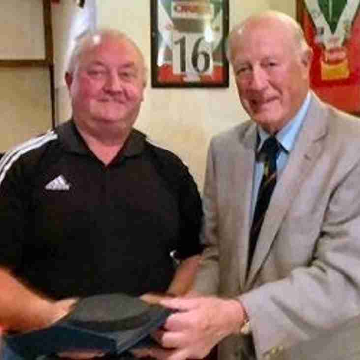 Billy awarded Bradford life membership