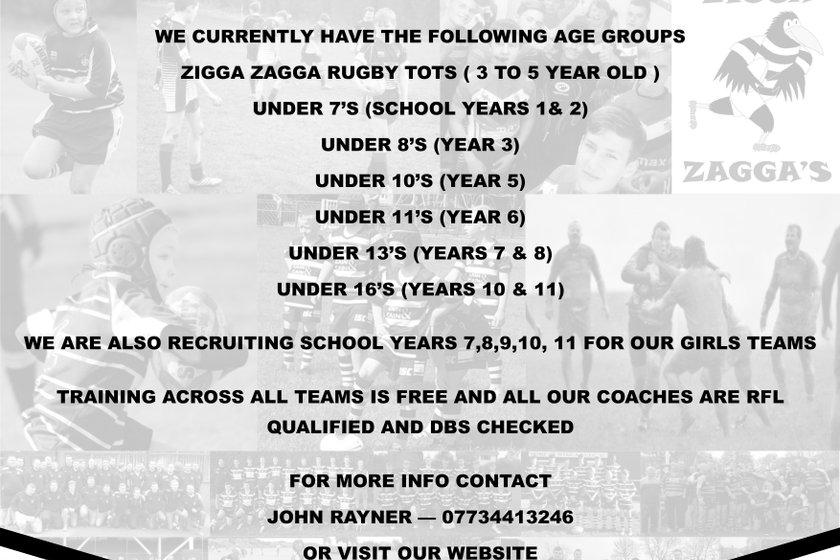Wyke A.R.L.F.C. Still recruiting Juniors for 2018