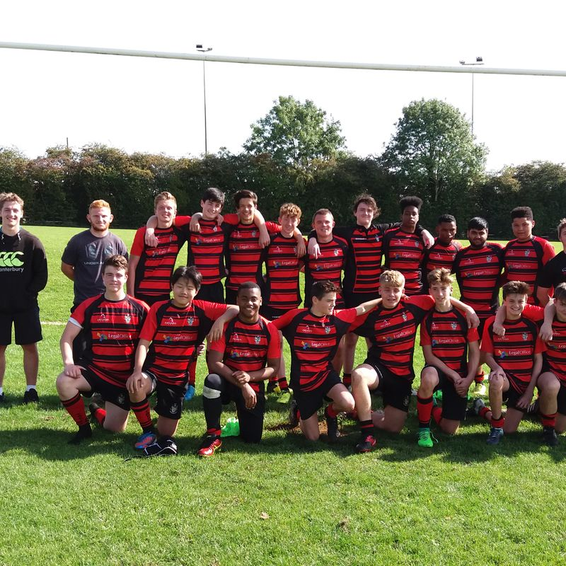 Under 15s beat Finchley 25 - 17