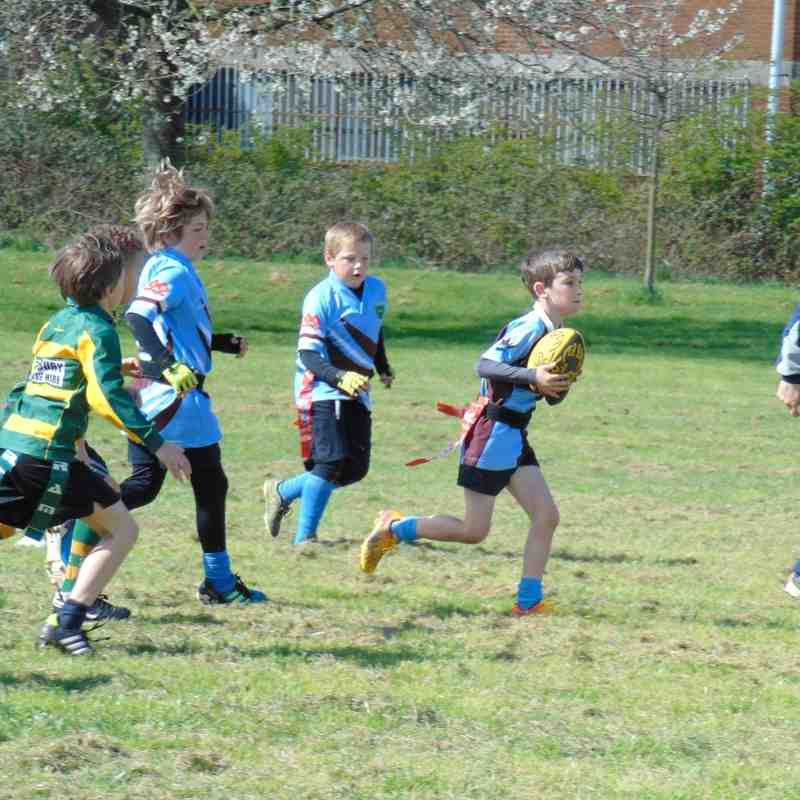 Kingswood U8s v Whitehall & Barton Hill 17.04.16
