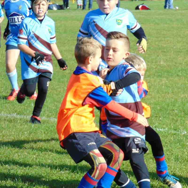Kingswood U9s v North Bristol 16.10.16