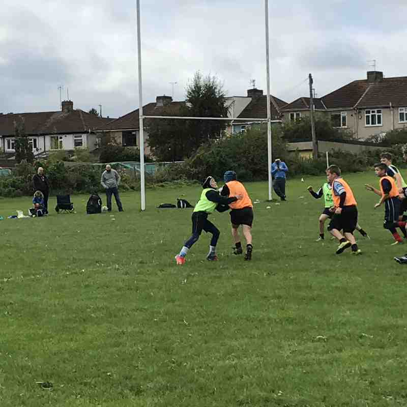 Kingswood U10s training game - 17/09/17