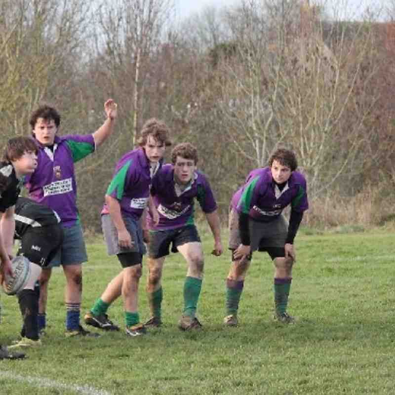 Colts join with Minety Colts against Wooton Bassett