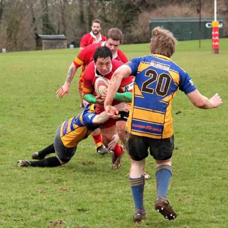 1st XV v Blandford 5-1-13
