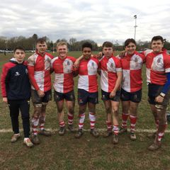 U16's Warwickshire players
