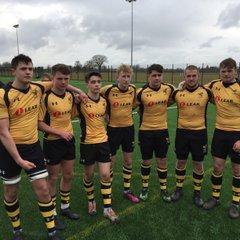 U16's representing Wasp Academy