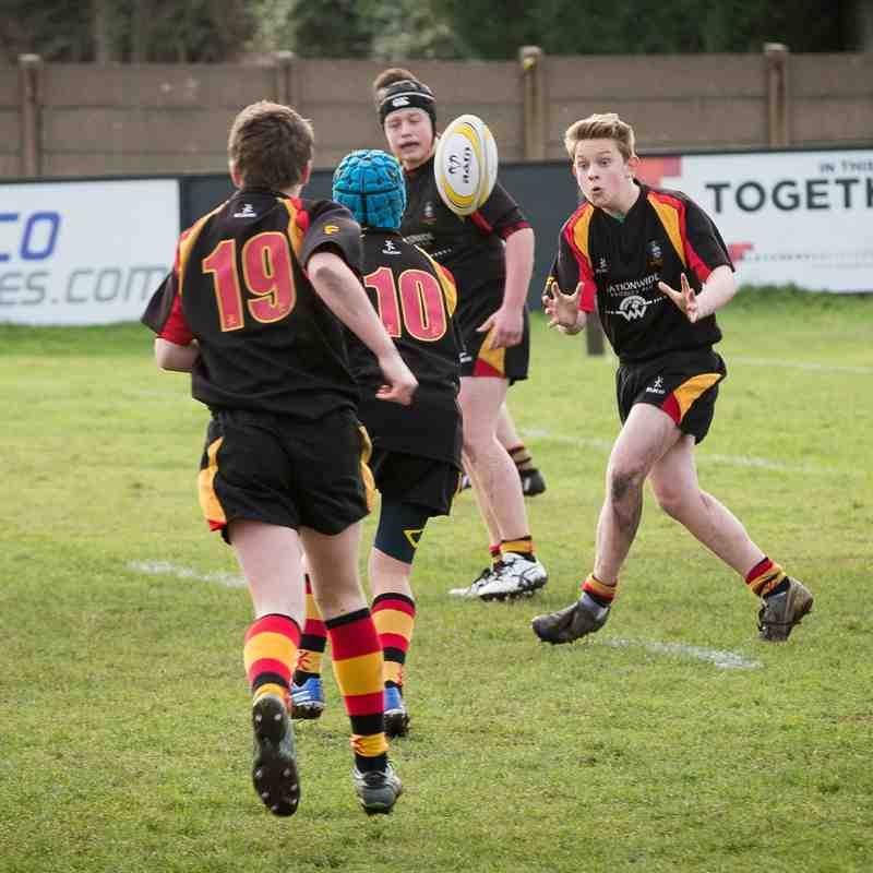 Southport RFC U14s v Waterloo 25.01.15