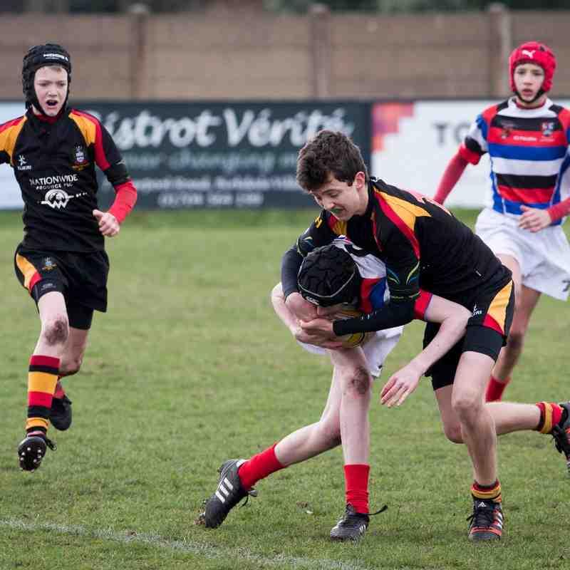 Under 13s v Liverpool St Helens 15.03.15