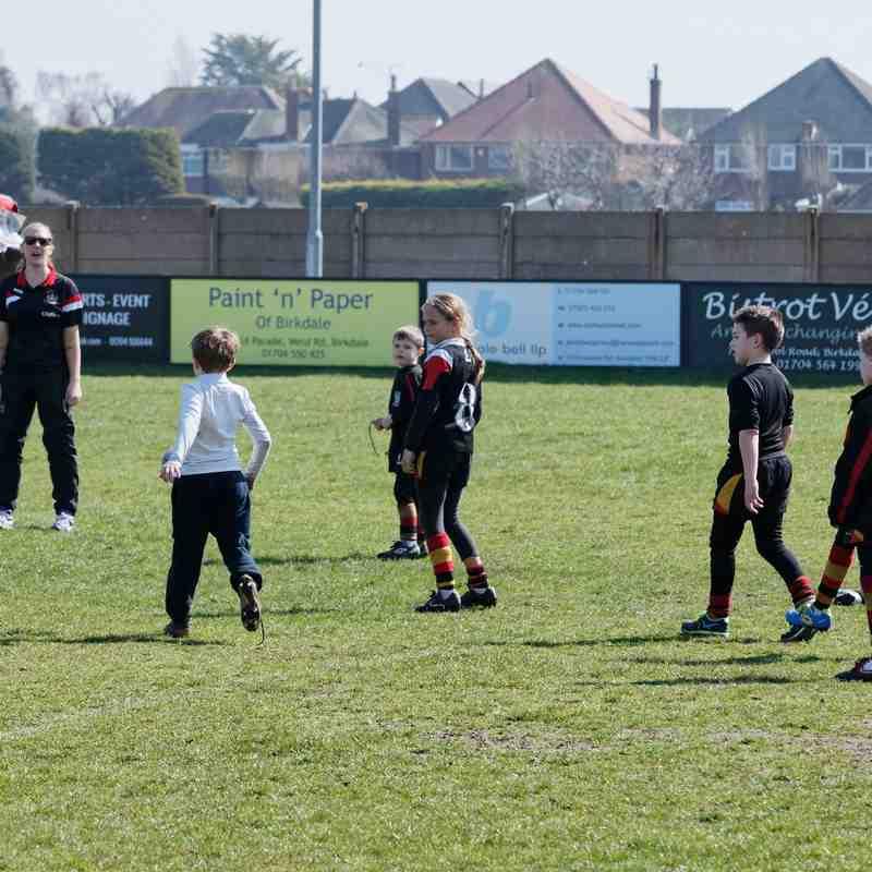 Wigan Warriors Junior Training 07.04.15