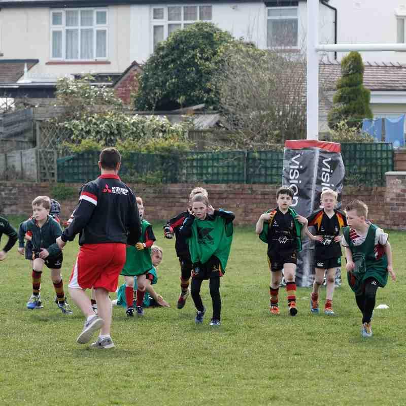 Wigan Warriors Junior Training 08.04.15