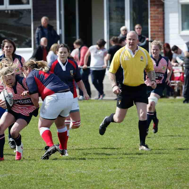 Lancashire Ladies v Cumbria Ladies 09.05.15 (photos by Gareth Davies and Angus Matheson)