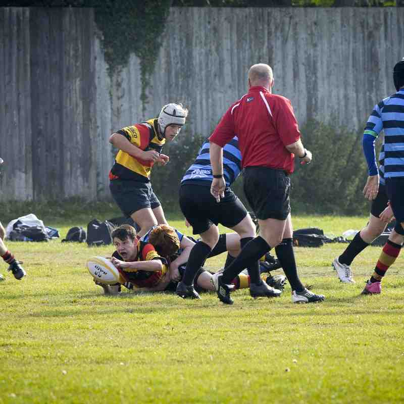 Southport RFC U14s v Liverpool Collegiate 04.10.15