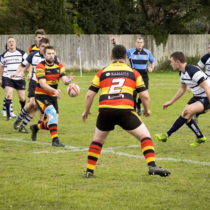 Southport RFC 2nd XV v Preston Grasshoppers 10.10.15