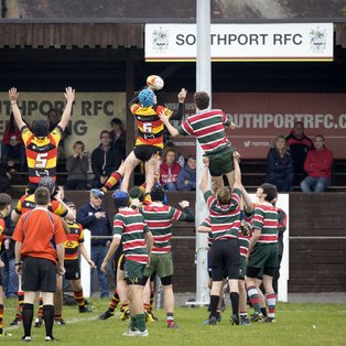 SOUTHPORT U16s 25 WATERLOO U16s 5