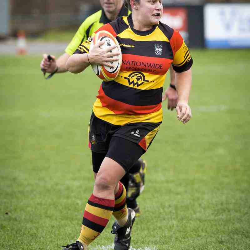 Southport RFC Ladies v Workington 29.11.15