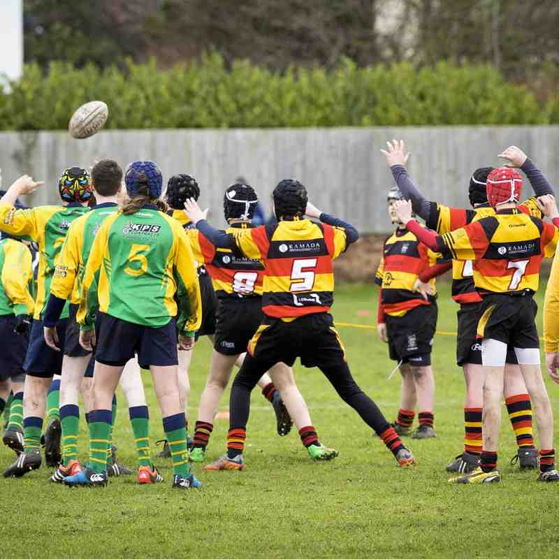 Southport RFC U13s v Fleetwood 24.01.16