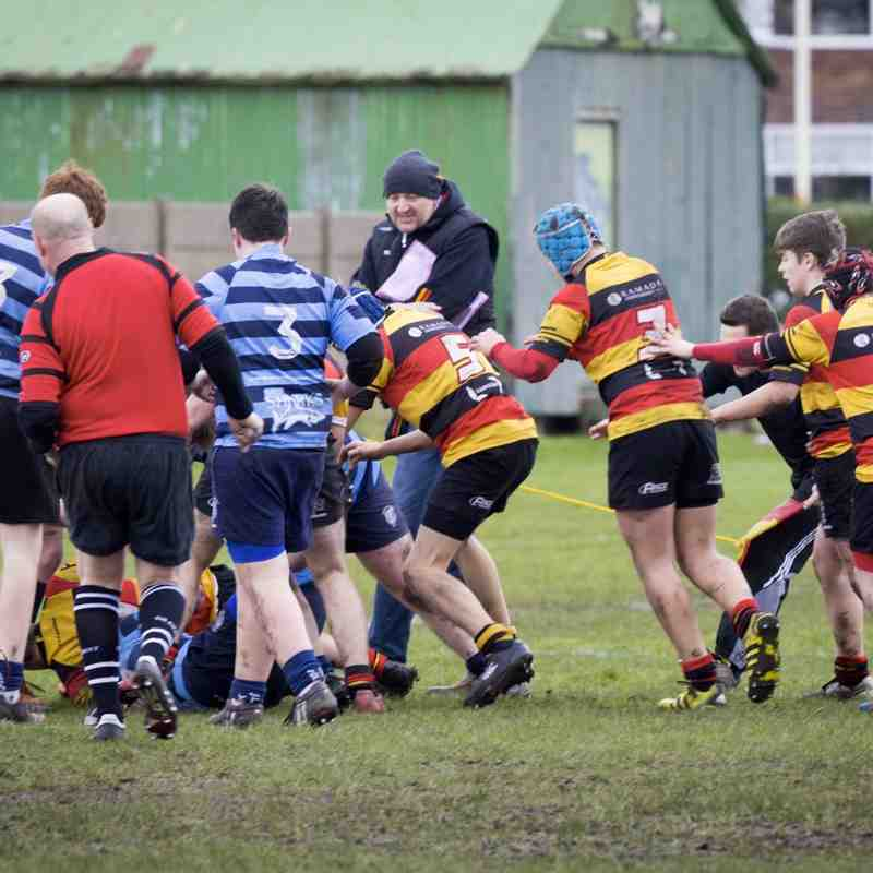 Southport RFC U15s v Liverpool Collegiate 24.01.16