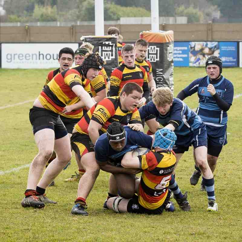 Southport U16s v Liverpool Collegiate 13.03.16