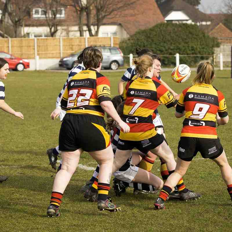 Southport RFC Ladies v Eccles 13.03.16