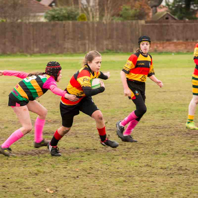 Southport & West Park U13 Ladies v Littleborough 27.11.16
