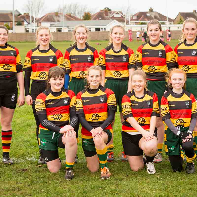 Southport & West Park U15 Ladies v Littleborough 27.11.16