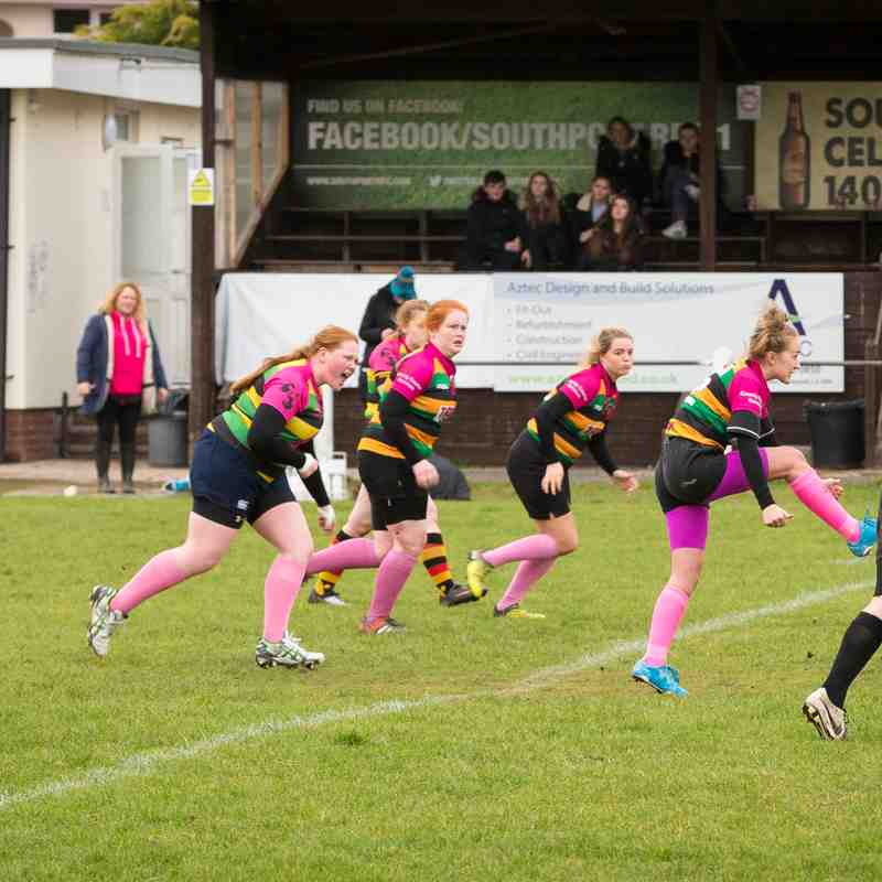 Southport & West Park U18 Ladies v Littleborough 27.11.16