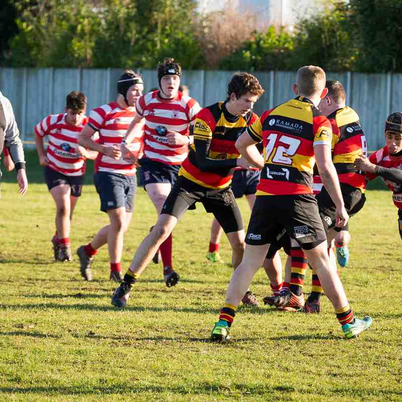 Southport RFC U16s v Vale of Lune 04.12.16