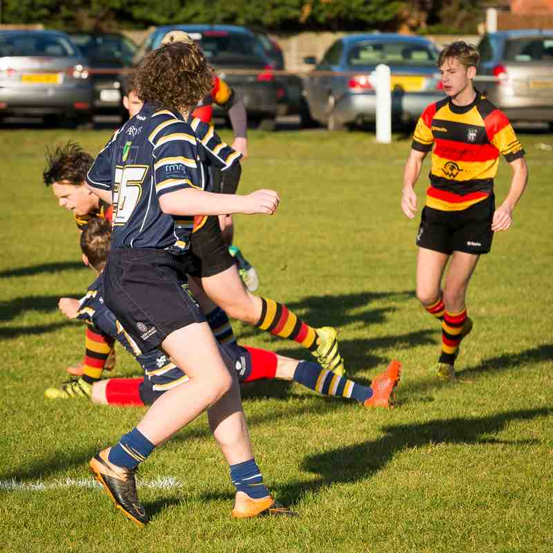 Southport RFC U17 Colts v Anselmians 04.12.16