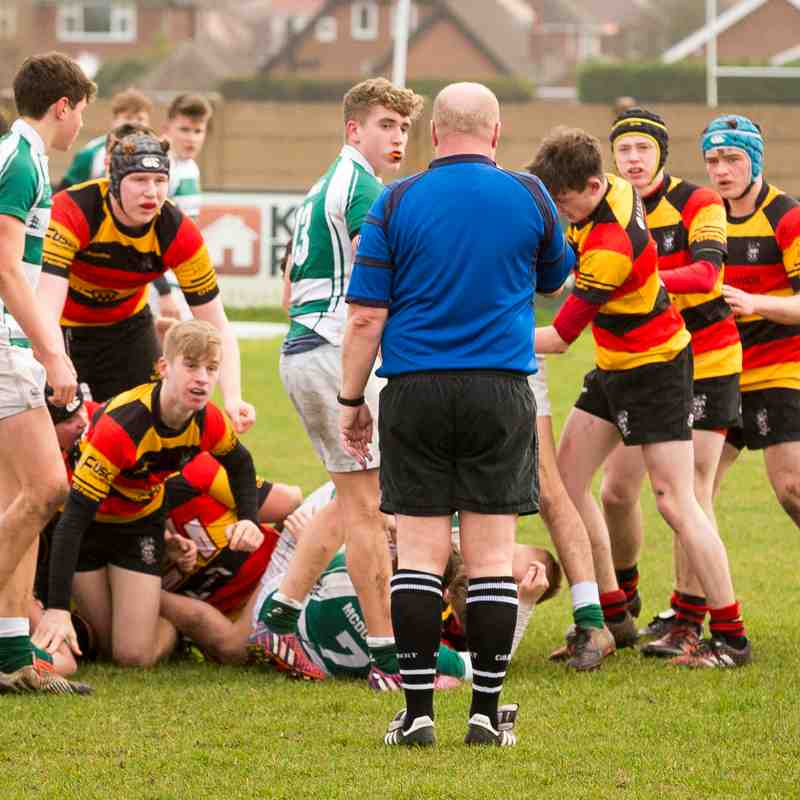Southport RFC u17 Colts v Penrith 19.02.17