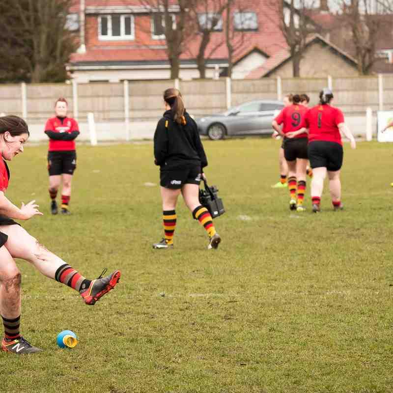 Southport RFC Ladies v Kendal Wasps 11.03.18