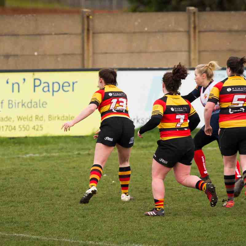 Southport RFC Ladies v Birkenhead Park 18.03.18 (photos by Joe Stewart & Angus Matheson)
