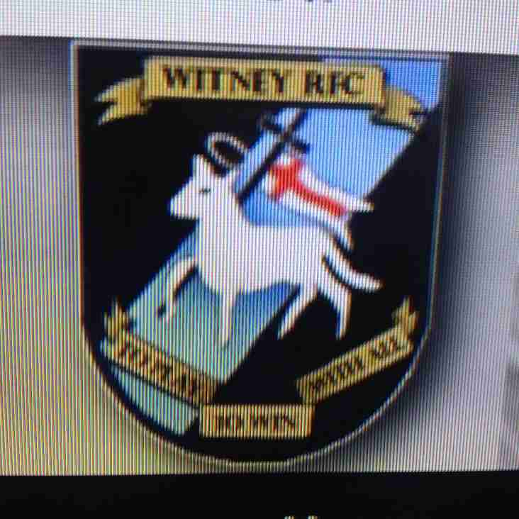 Sunday 14th Sept vs Witney away