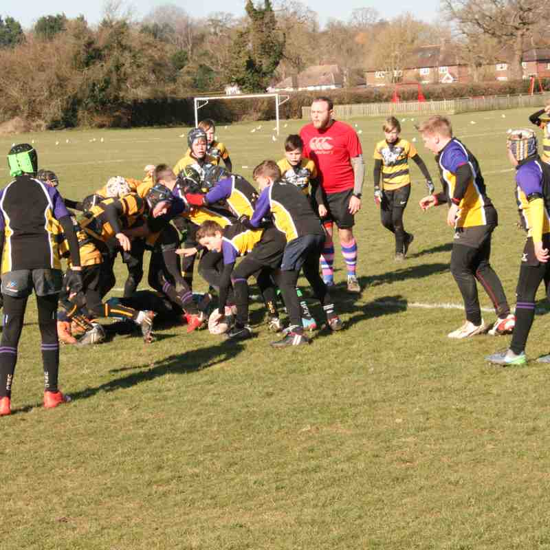 U12s vs Uckfield, 25/02/2018