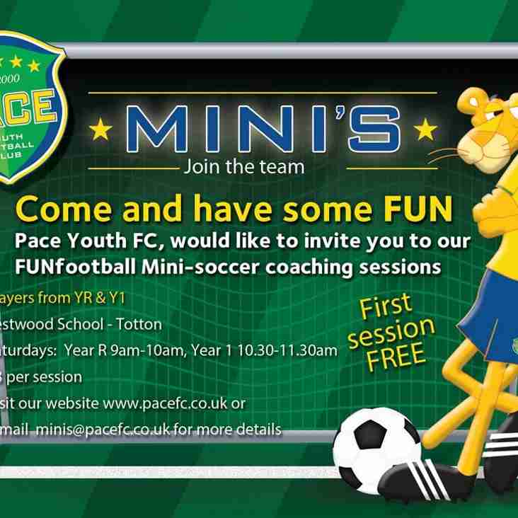 PACE MINIS - COME AND JOIN US!