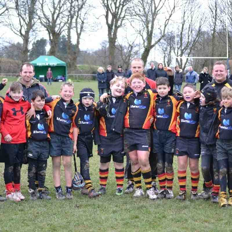 Under 10's Rugby Festival Truro. 16/03/14