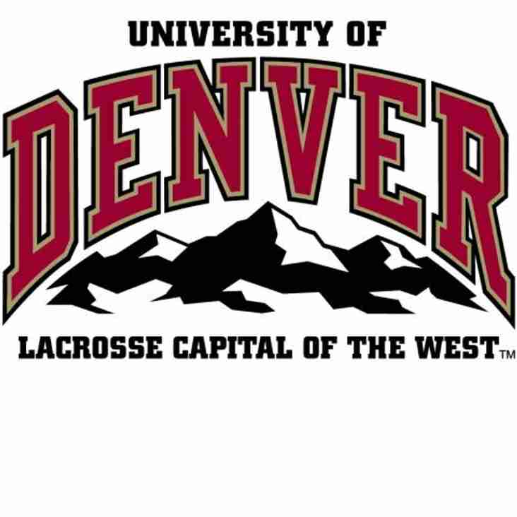 Thank You DU Lacrosse for Support
