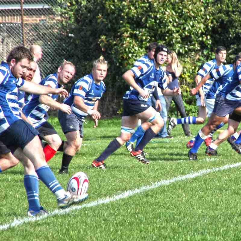 Haslemere 1st XV vs Woking 26th September 2015