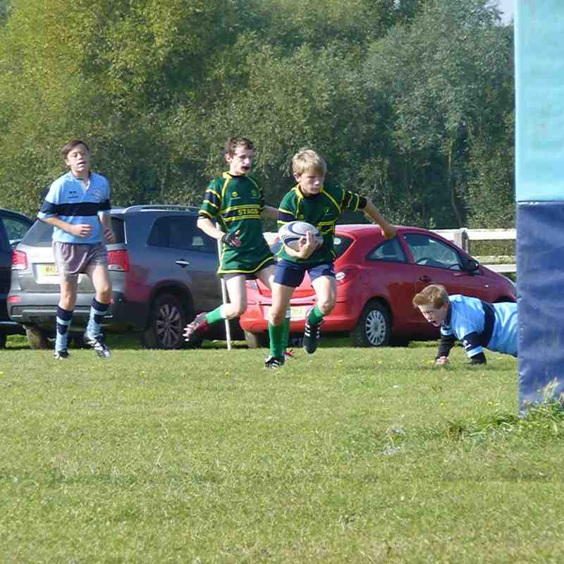 St Neots Vs Stags U13's    4th October 2015
