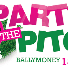 Party On The Pitch - This Saturday!
