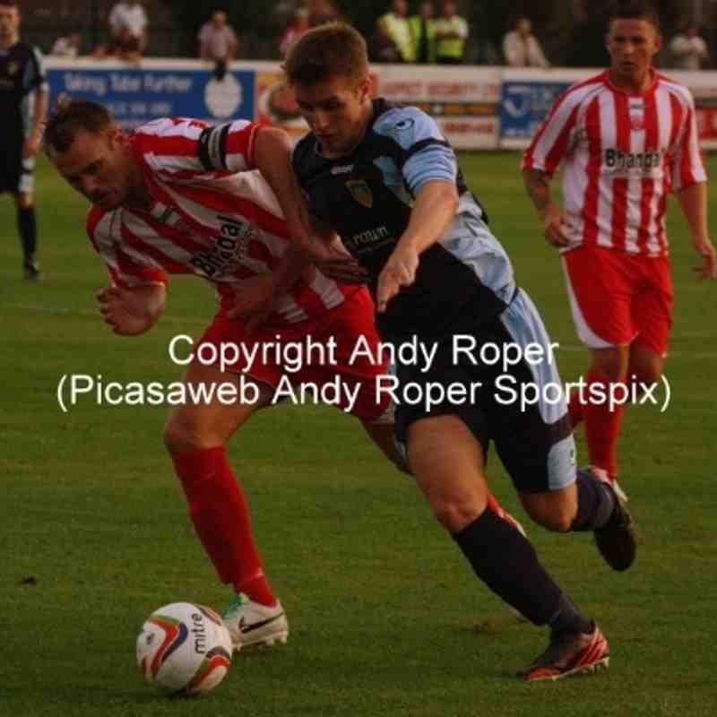 Stourbridge v St Neots Town (Calor League Premier) 20/08/2013