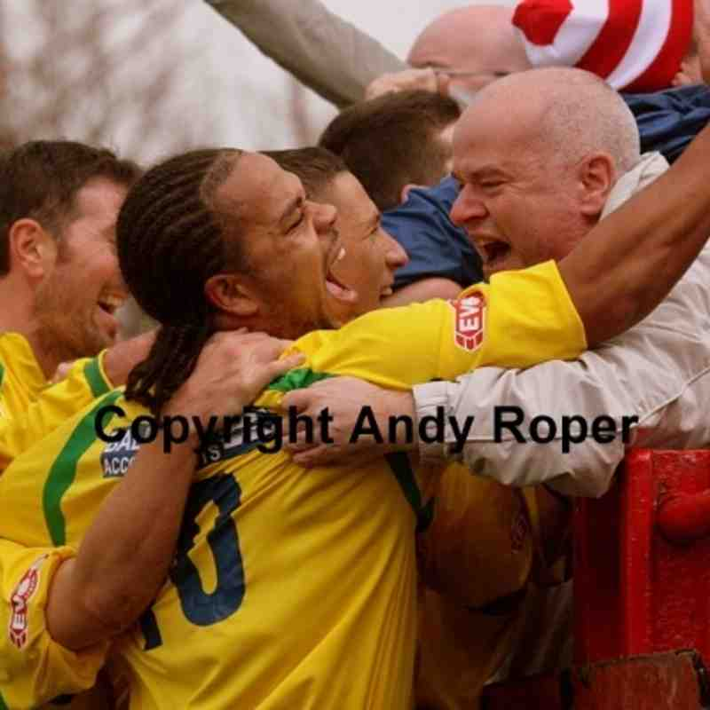 Workington AFC v Stourbridge (FA Cup) 26/10/2013