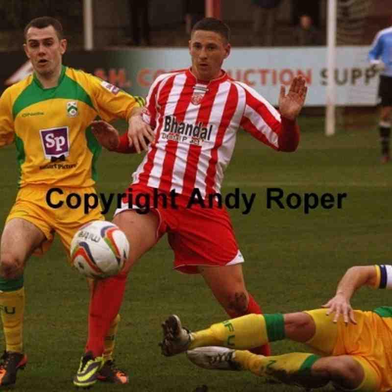 Stourbridge v North Ferriby United (FA Trophy) 16/11/2013