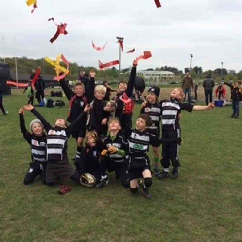 CRFC U8's win at Newbury Festival